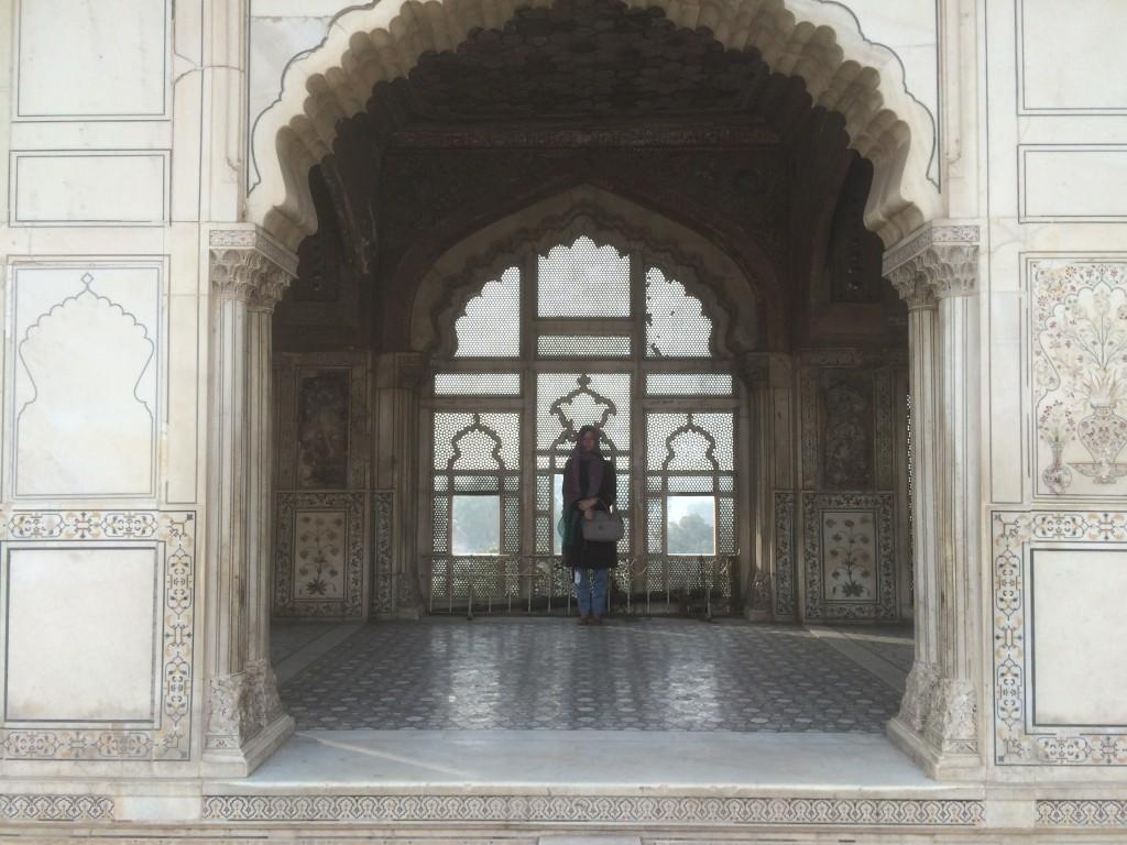 Me inside Naulakha Pavilion